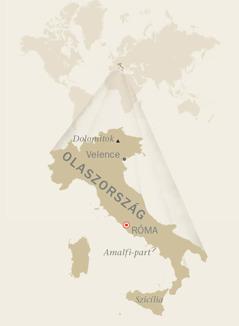 Olaszország térképe