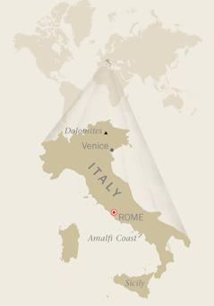 Ang mapa sang Italya