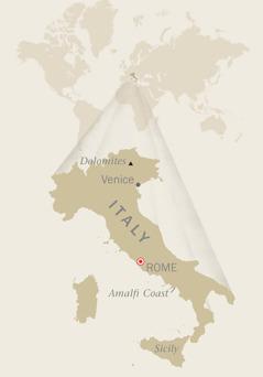 Mapa ti Italy