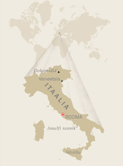 Itaalia kaart