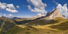 Das Dolomitengebirge