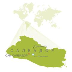 Карта на Салвадор