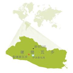 薩爾瓦多地圖