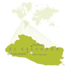 A map of El Salvador