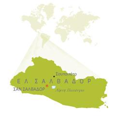 Χάρτης του Ελ Σαλβαδόρ