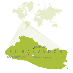 Peta El Salvador
