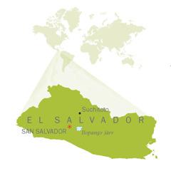 El Salvadori kaart