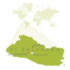 El Salvador haritası