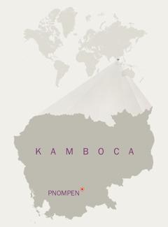 Kambocanın xəritəsi