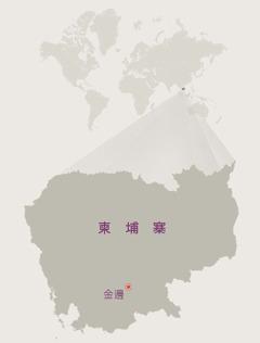 柬埔寨地圖