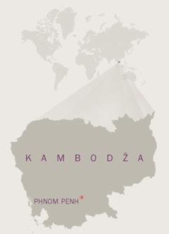 Kambodžan kartta