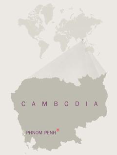 Mapa ti Cambodia
