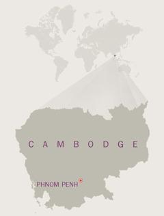 Karte ya Cambodge
