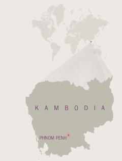 Ramani ya Kambodia