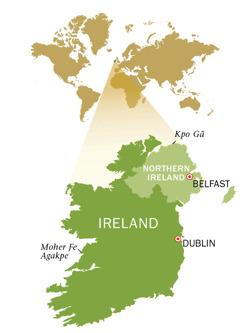 Republic of Ireland kple Northern Ireland ƒe anyigbatata