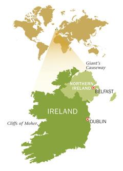 Mepe wa Riphabliki ra Ireland na Ireland-n'walungu