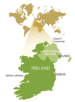 Republic of Ireland ne Northern Ireland asase mfonini