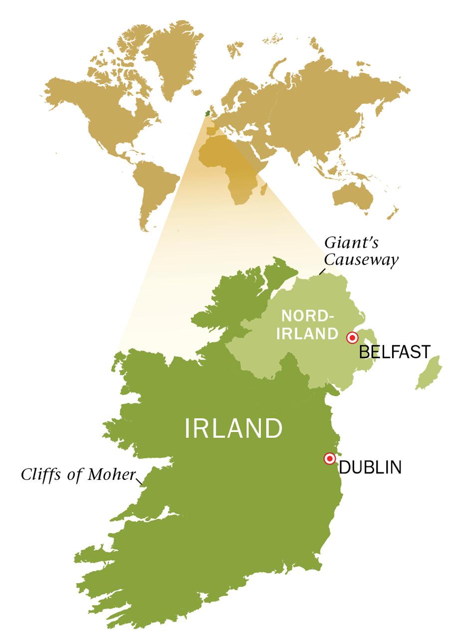 Ett Besok Pa Irland Lander Och Folk