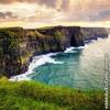 Klettaströnd við Írland