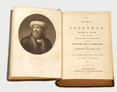 William Whiston's translation of the writings of Flavius Josephus