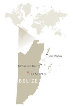 Mmapa wa Belize