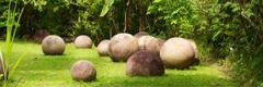 Meget gamle stenkugler i Costa Rica