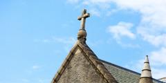 Η στέγη ενός ναού