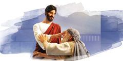 Jezus ozdravi bolnega moža.