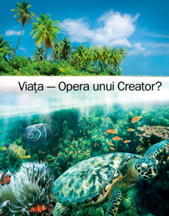 Coperta broşurii Viaţa – Opera unui Creator?