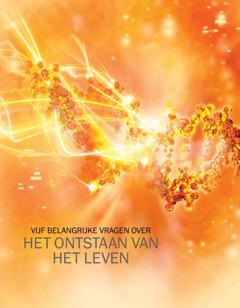 Cover van de brochure Vijf belangrijke vragen over het ontstaan van het leven