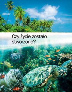 """Okładka broszury """"Czy życie zostało stworzone?"""""""