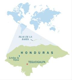 Mmapa wa Honduras