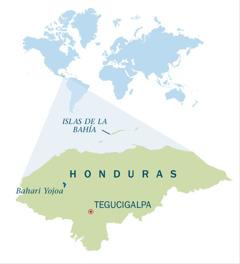 [Karte kwenye ukurasa wa 8]Karte ya Honduras