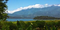 Honduras kustlinje.