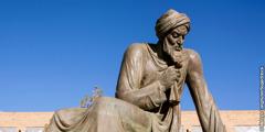 En statue af al-Khwarizmi