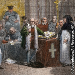 Galileo publicizing his discoveries