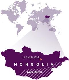 Mapu ghakulongora charu cha Mongolia