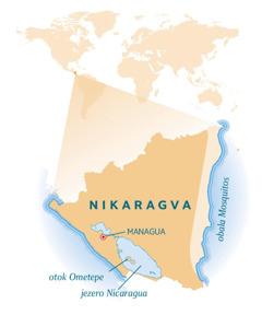 Karta Nikaragve