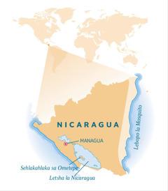 Mmapa wa Nicaragua