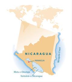 O se faafanua o Nicaragua