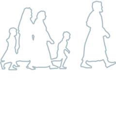Persone che seguono Gesù