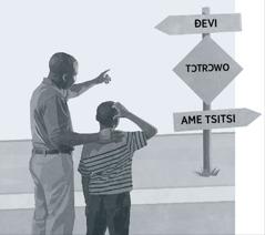 Vifofo aɖe kple via le dzesiti si dzi woŋlɔ tɔtrɔ siwo vana tso ɖevime va se ɖe tsitsime la kpɔm