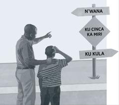 Tatana ni jaha rakwe va langute mfungho lowu nga endleleni leyi sukaka eka vuntshwa ku ya eka kukula
