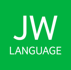 L'icona di JW Language