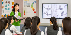 Ipabpabuya ti maysa a guidance counselor kadagiti estudiantena idiay South Korea ti maysa a video iti website a jw.org