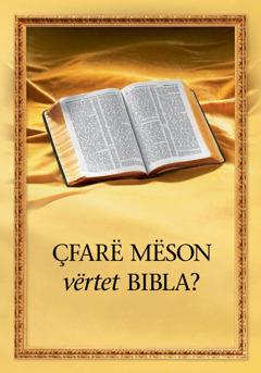 Çfarë mëson vërtet Bibla?