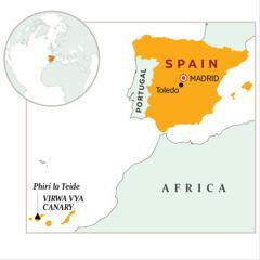 Mapu gha charu cha Spain