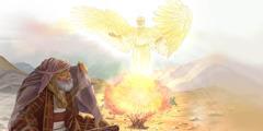 Anđeo se pojavio Mojsiju usred gorućeg grma
