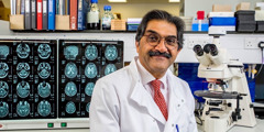 El doctor Rajesh Kalaria