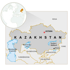 Sarintanin'i Kazakhstan
